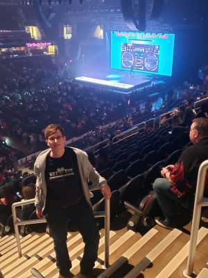 Krista attended New Kids on the Block: the Mixtape Tour on May 4th 2019 via VetTix