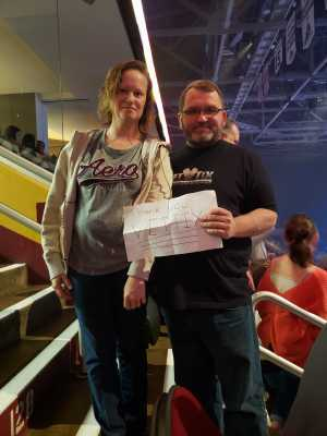 james attended New Kids on the Block: the Mixtape Tour on May 4th 2019 via VetTix