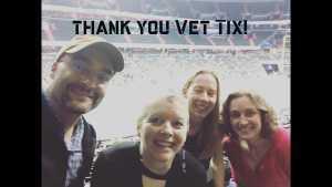 Trisha attended Washington Valor vs. Philadelphia Soul - Arena Football League AFL on May 18th 2019 via VetTix