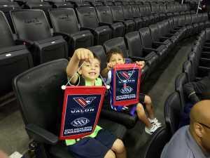 Damon attended Washington Valor vs. Atlantic City Blackjacks - Arena Football Leauge AFL on May 11th 2019 via VetTix