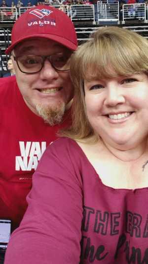 Scott attended Washington Valor vs. Atlantic City Blackjacks - Arena Football Leauge AFL on May 11th 2019 via VetTix