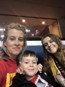 Elizabeth attended Washington Valor vs. Atlantic City Blackjacks - Arena Football Leauge AFL on May 11th 2019 via VetTix
