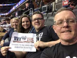 Steven attended Washington Valor vs. Atlantic City Blackjacks - Arena Football Leauge AFL on May 11th 2019 via VetTix