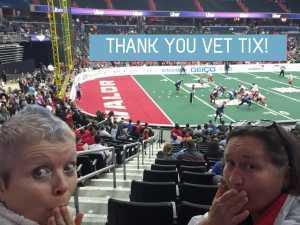 Trisha attended Washington Valor vs. Atlantic City Blackjacks - Arena Football Leauge AFL on May 11th 2019 via VetTix