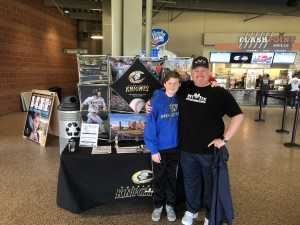 Keith attended Charlotte Knights vs Rochester Red Wings - MiLB on May 15th 2019 via VetTix