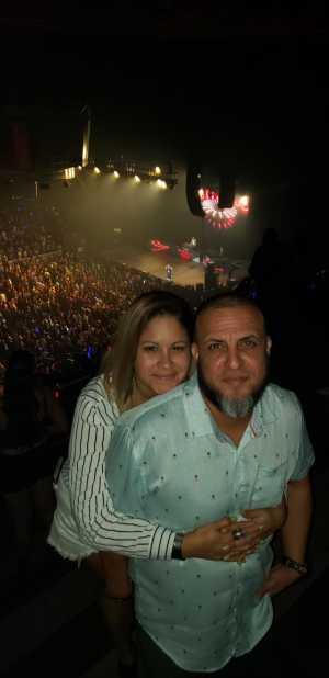 Efrain attended Don Omar - Reggaeton on May 5th 2019 via VetTix