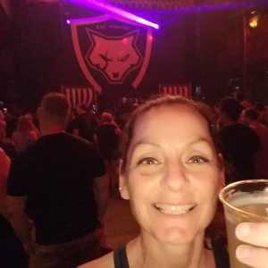 Kim attended Bad Wolves on May 19th 2019 via VetTix