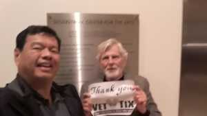 William attended Ravels Magical Opera - Presented by the Pacific Symphony on May 17th 2019 via VetTix