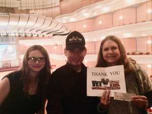 James attended Ravels Magical Opera - Presented by the Pacific Symphony on May 17th 2019 via VetTix