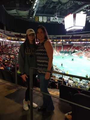 Crystal attended Iowa Barnstormers vs. Bismark Bucks - IFL - Military Appreciation Night! on May 24th 2019 via VetTix