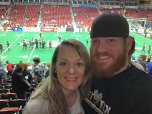Mike attended Iowa Barnstormers vs. Bismark Bucks - IFL - Military Appreciation Night! on May 24th 2019 via VetTix