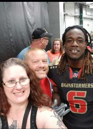 bryan attended Iowa Barnstormers vs. Bismark Bucks - IFL - Military Appreciation Night! on May 24th 2019 via VetTix