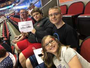 Joseph attended Iowa Barnstormers vs. Bismark Bucks - IFL - Military Appreciation Night! on May 24th 2019 via VetTix