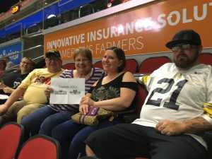 Robert attended Iowa Barnstormers vs. Bismark Bucks - IFL - Military Appreciation Night! on May 24th 2019 via VetTix
