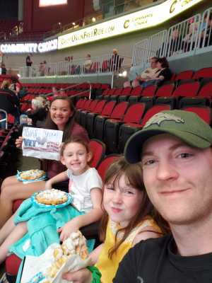 Jefferson attended Iowa Barnstormers vs. Bismark Bucks - IFL - Military Appreciation Night! on May 24th 2019 via VetTix