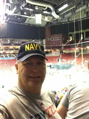 Charles attended Iowa Barnstormers vs. Bismark Bucks - IFL - Military Appreciation Night! on May 24th 2019 via VetTix