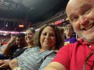 Darin attended Iowa Barnstormers vs. Bismark Bucks - IFL - Military Appreciation Night! on May 24th 2019 via VetTix