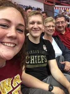 Brad attended Iowa Barnstormers vs. Bismark Bucks - IFL - Military Appreciation Night! on May 24th 2019 via VetTix
