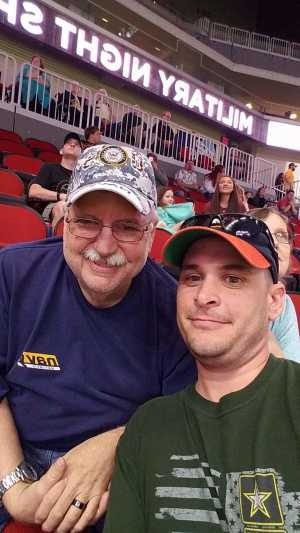 James attended Iowa Barnstormers vs. Bismark Bucks - IFL - Military Appreciation Night! on May 24th 2019 via VetTix