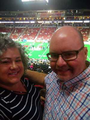Davy attended Iowa Barnstormers vs. Bismark Bucks - IFL - Military Appreciation Night! on May 24th 2019 via VetTix