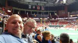 barry attended Iowa Barnstormers vs. Bismark Bucks - IFL - Military Appreciation Night! on May 24th 2019 via VetTix