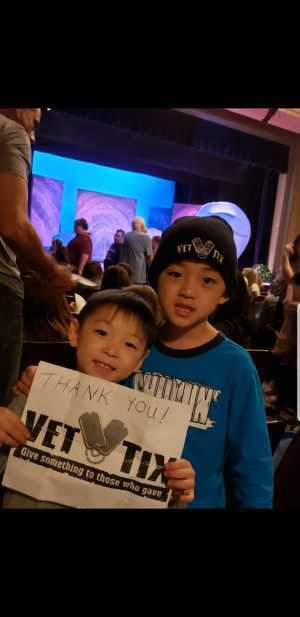 Ryu attended Long Island Ballet Theatre, Hunington Center for Performing Arts & Westchester Sandbox Theatre Present Disney The Little Mermaid - Friday on May 31st 2019 via VetTix