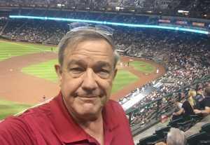 Walter attended Arizona Diamondbacks vs. Pittsburgh Pirates - MLB on May 13th 2019 via VetTix