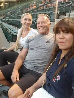 william attended Arizona Diamondbacks vs. Pittsburgh Pirates - MLB on May 13th 2019 via VetTix