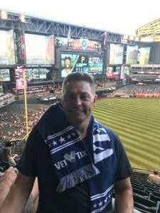 Dennis attended Arizona Diamondbacks vs. Pittsburgh Pirates - MLB on May 13th 2019 via VetTix