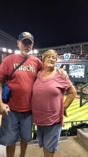 Albert attended Arizona Diamondbacks vs. Pittsburgh Pirates - MLB on May 13th 2019 via VetTix