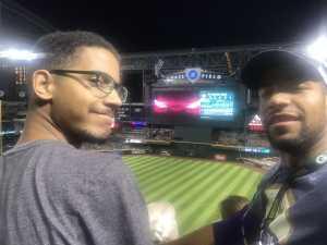 Neesie attended Arizona Diamondbacks vs. Pittsburgh Pirates - MLB on May 13th 2019 via VetTix