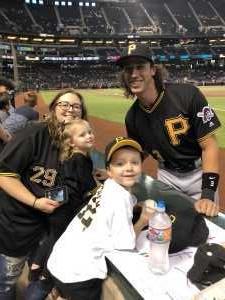 Christopher attended Arizona Diamondbacks vs. Pittsburgh Pirates - MLB on May 13th 2019 via VetTix