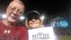 Ronald attended Arizona Diamondbacks vs. Pittsburgh Pirates - MLB on May 13th 2019 via VetTix