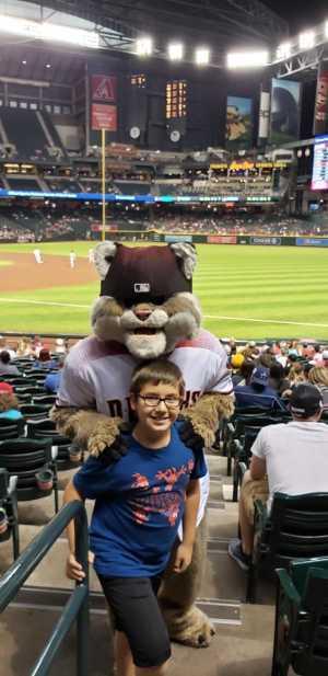Carlos attended Arizona Diamondbacks vs. Pittsburgh Pirates - MLB on May 13th 2019 via VetTix