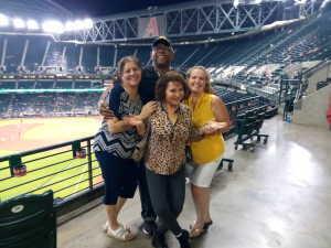 Jamie attended Arizona Diamondbacks vs. Pittsburgh Pirates - MLB on May 13th 2019 via VetTix