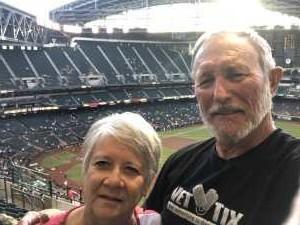 Donald attended Arizona Diamondbacks vs. Pittsburgh Pirates - MLB on May 13th 2019 via VetTix