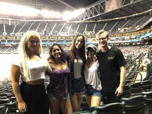 Seema attended Arizona Diamondbacks vs. Pittsburgh Pirates - MLB on May 13th 2019 via VetTix