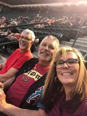 David attended Arizona Diamondbacks vs. Pittsburgh Pirates - MLB on May 13th 2019 via VetTix