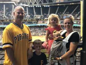 Ryan attended Arizona Diamondbacks vs. Pittsburgh Pirates - MLB on May 13th 2019 via VetTix