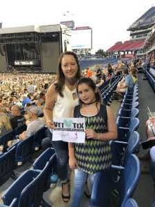 Nyoka attended Eric Church: Double Down Tour - Country on May 25th 2019 via VetTix