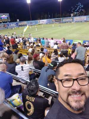 Jaime attended Las Vegas Lights FC vs. Colorado Springs Switchbacks FC - MLS on May 11th 2019 via VetTix