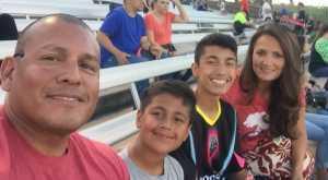 Joaquin attended Las Vegas Lights FC vs. Colorado Springs Switchbacks FC - MLS on May 11th 2019 via VetTix