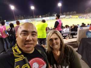 Norberto attended Las Vegas Lights FC vs. Colorado Springs Switchbacks FC - MLS on May 11th 2019 via VetTix