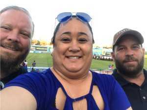 Raymond attended Las Vegas Lights FC vs. Colorado Springs Switchbacks FC - MLS on May 11th 2019 via VetTix