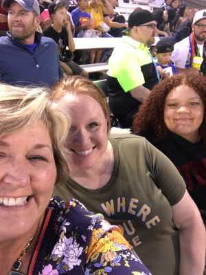 Julie attended Las Vegas Lights FC vs. Colorado Springs Switchbacks FC - MLS on May 11th 2019 via VetTix