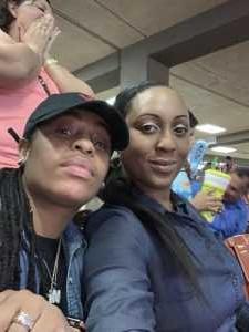 latasha attended Las Vegas Lights FC vs. Colorado Springs Switchbacks FC - MLS on May 11th 2019 via VetTix