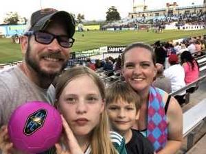 Charles attended Las Vegas Lights FC vs. Colorado Springs Switchbacks FC - MLS on May 11th 2019 via VetTix