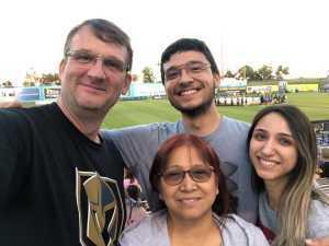 Brian attended Las Vegas Lights FC vs. Colorado Springs Switchbacks FC - MLS on May 11th 2019 via VetTix