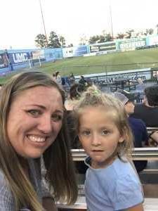 Thomas attended Las Vegas Lights FC vs. Colorado Springs Switchbacks FC - MLS on May 11th 2019 via VetTix