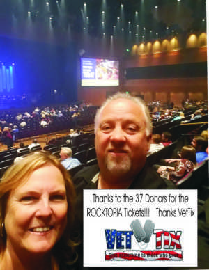 charles attended Rocktopia on May 9th 2019 via VetTix